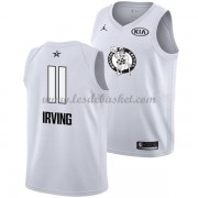 Maillot NBA Pas Cher Boston Celtics Kyrie Irving 11# White 2018 All Star Game Swingman..